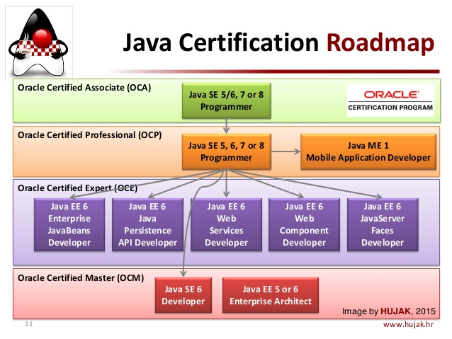 Java certification path